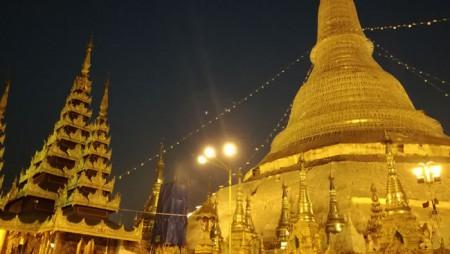 ジュエダゴンパゴダ2019年ミャンマー・ヤンゴン旅行