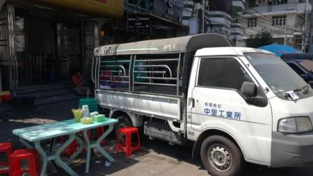 日本の中古車2019年ミャンマー・ヤンゴン旅行