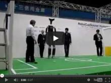 身長4mのヒューマノイド型二足歩行ロボット はじめロボット