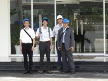 ベトナムホーチミン工場見学