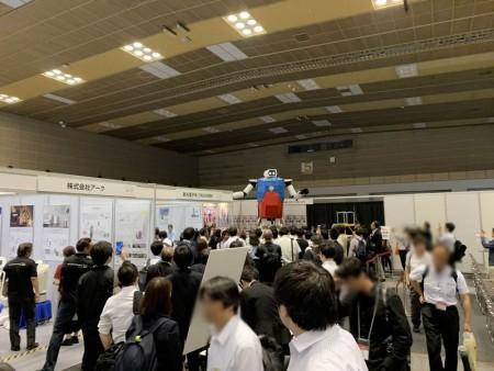 サービスロボット開発技術展に4mロボット5